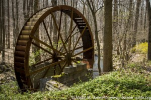Waterwheel by Rockaway Creek