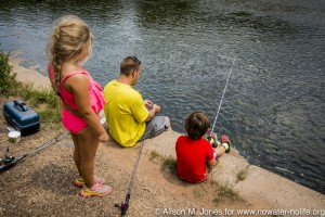 Fishing on the Raritan River