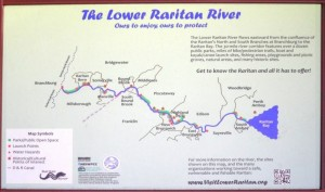 Map of the Raritan River